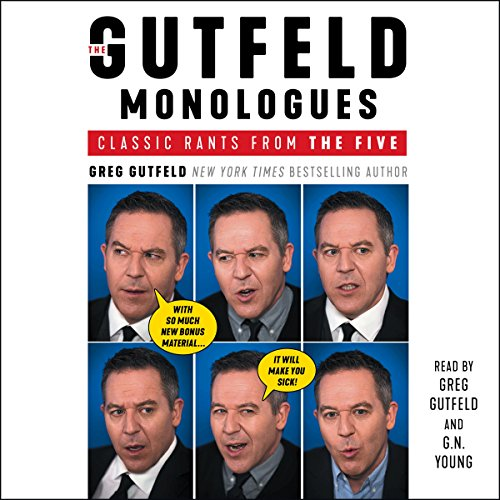 The Gutfeld Monologues by Simon & Schuster Audio