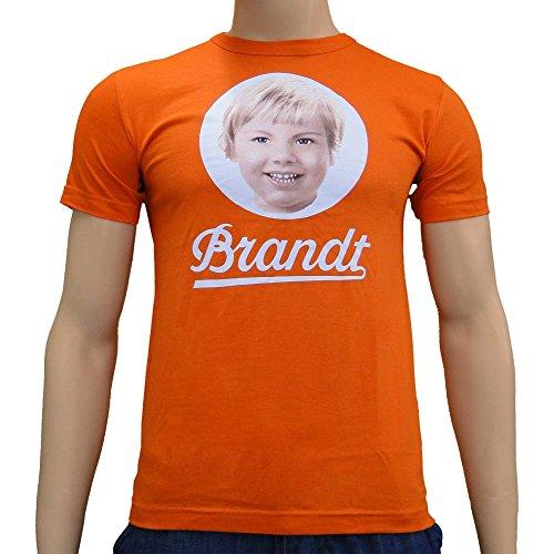 Logoshirt - Brandt T-Shirt, arancione
