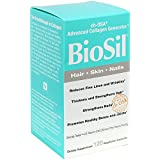 BioSil - Hair, Skin, & Nails, Advanced Collagen & Keratin Support for Comprehensive Beauty, 120 Capsules (FFP)