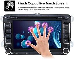 Pantalla táctil HD de 7 pulgadas para coche, reproductor de DVD ...