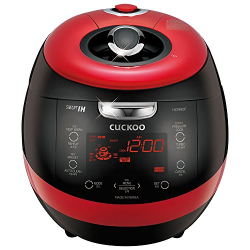 ction Heating Pressure Rice Cooker CRP-HZ0683FR (Red) ()