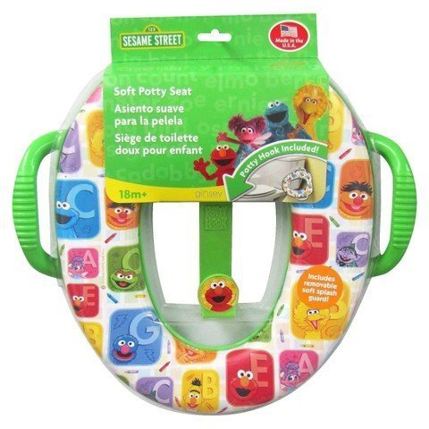 Sesame Street Soft Potty with Hook Green