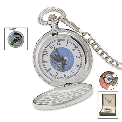 Sigma Impex P-255 Eagle Pocket Watch