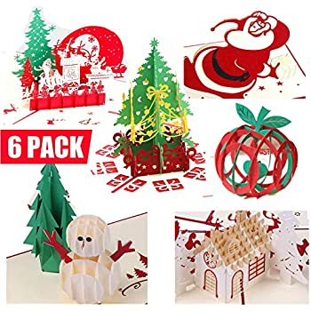 Jewelry & Watches 3d Pop Up Santas Sleigh Greeting Card Merry Christmas Wedding Postcard Gift Hot