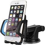 Eximtrade Universal Auto Handy Halterung Saugnapf für Apple iPhone 4/4s/5/5s/6/6s/6 Plus/6s Plus, Samsung Galaxy, HTC One, Motorola, Sony Xperia, andere Smartphones