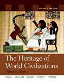 The Heritage of World Civilizations 9780205803484