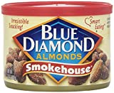 Blue Diamond Smokehouse Almonds Canned -- 6 ounce ( 2 Pack )