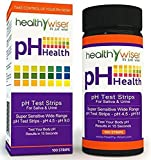 100 Count Peerless Popular pH Test Strips Saliva and Urine Evaluate Practical Sensitive Accurate Wide Range pH4.5-pH9.0 with Color Chart