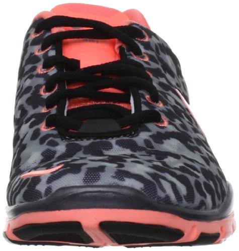 Womens Nike Free Trainer Fit 3 Prt 555159 007 Stealth Atomic Pink Metalic Black Stealth / Atomic Pink -mtlc Hmtt-zwart
