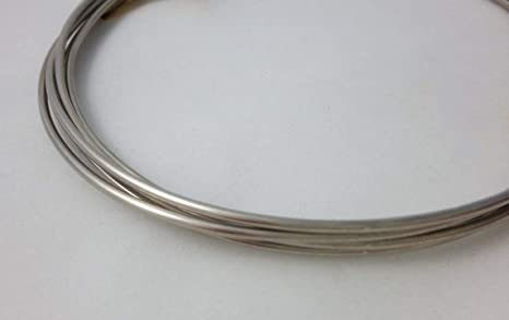 24 gauge 925 Sterling Silver Round Wire 0.5mm 1 oz Soft