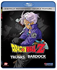 Dragon Ball Z Double Feature: The History of Trunks / Bardock [Blu-ray] from Funimation