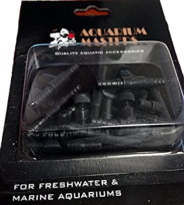 Best Cheap Deal for 11 Piece Air Control Kit Includes Adjustable Valves & Tee Splitters For High Performance And For Use In Aquariums, Terrariums, And Hydroponic Systems by Aquarium Masters - Free 2 Day Shipping Available