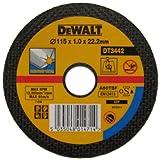 DeWalt Dewalt DT3442 115mm x 1mm, 22.2mm Bore, Thin Metal Cutting Disc