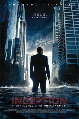 INCEPTION MOVIE POSTER Leonardo DiCaprio RARE HOT NEW 24x36