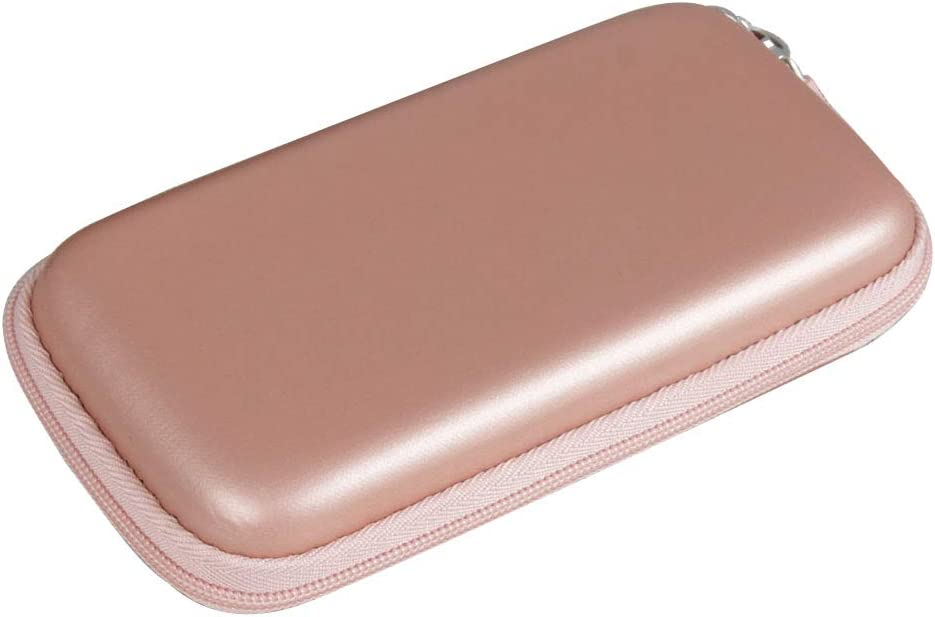 Hermitshell Hard EVA Travel Case for Luxtude PowerEasy 5000mAh Ultra Slim Portable Charger Rose Gold, PU