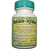 Bean- zyme 150 count cost 40 % less per capsule than Beano