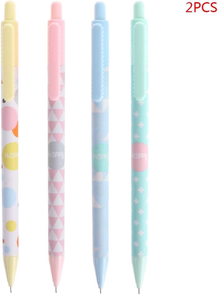 YOFO 2x Sweet Mechanical Press Pencil Automatischer Kugelschreiber Schulmaterial F/ür B/üroartikel