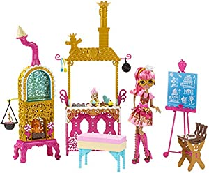 Ever After High Sugar Coated Kitchen with Ginger Breadhouse Doll Play