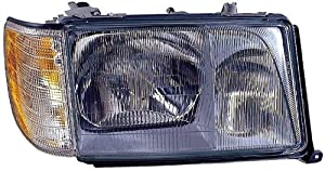 Depo 340-1108R-ASC Mercedes-Benz E-Class Passenger Side Replacement Headlight Assembly with Corner Light