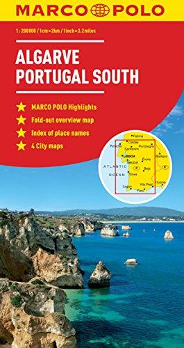 Algarve Marco Polo Map (Marco Polo Maps)