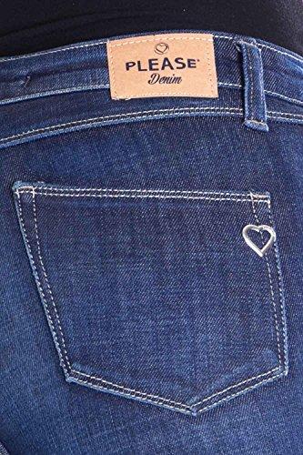 Skinny Denim Stretch Slim P35 Please Jeans Donna UwqtUS1xg