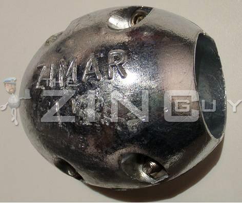 Zimar 3 1/2'' Shaft Zinc Anode by Zimar Zincs