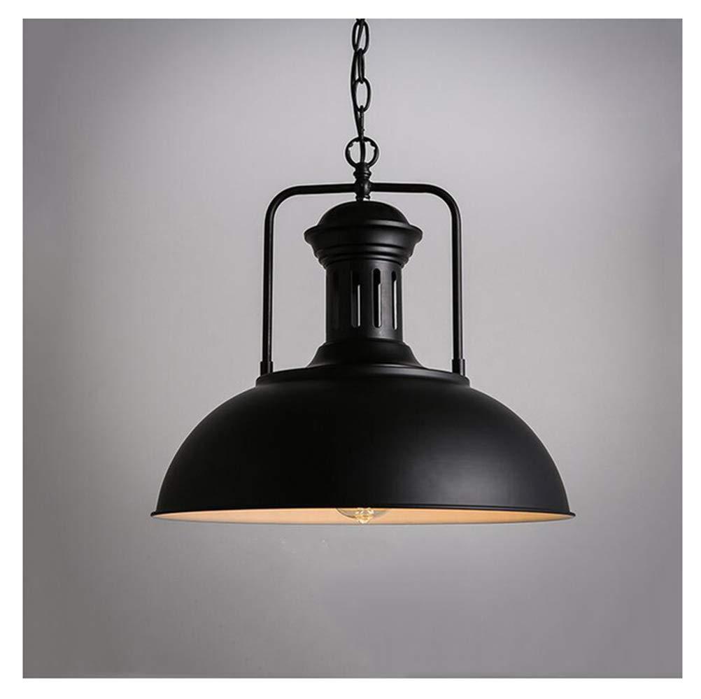 AXIU Nordic Single Head Pendelleuchte Droplight, Vintage Eisen Lampe Schlafzimmer Esszimmer Cafe Restaurant Gang Retro Loft Pendelleuchte Kronleuchter