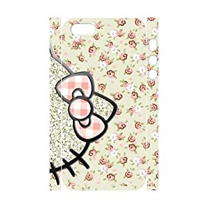 YAYADE Phone Case Of for girl Hello Kitty Cute Cartoon illustration For iPhone 5,5S