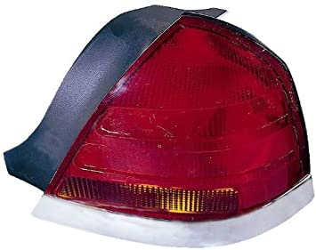 Depo 331-1964R-US Ford Crown Victoria Passenger Side Replacement Taillight Unit without Bulb 02-00-331-1964R-US