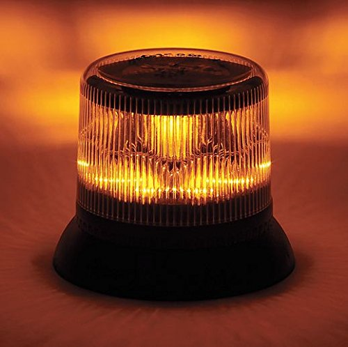 Dual Level Strobe, Amber, Permanent, LED ()