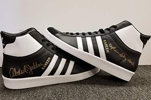Kareem Abdul Jabbar Autographed Signed Memorabilia Adidas Captain Skyhook Shoes Beckett Authentic Itp Coa