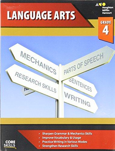 Steck-Vaughn Core Skills Language Arts: Workbook Grade 4