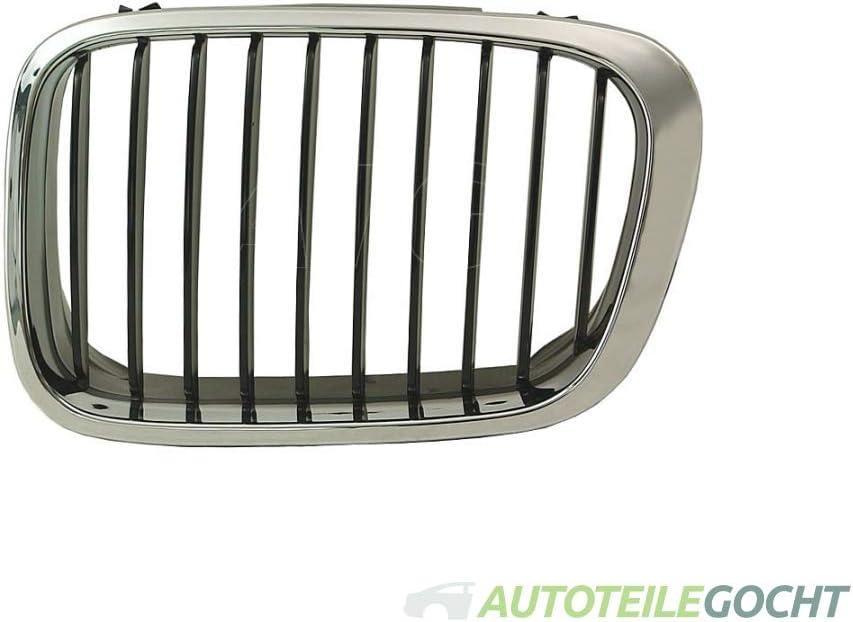 Set chrom K/ühlergrill f/ür BMW 3er E46 97-05 von Autoteile Gocht