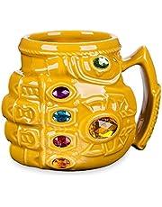 Thanos Handschoenen Fist Cup Anime Driedimensionale Grote Capaciteit Water Cup Cartoon Mok Creatieve Kleur Diamant Keramische Cup 15.5* 12* 12Cm300-400Ml
