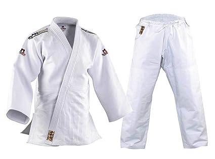 DanRho Traje de Judo Kano Color Blanco: Amazon.es: Deportes ...