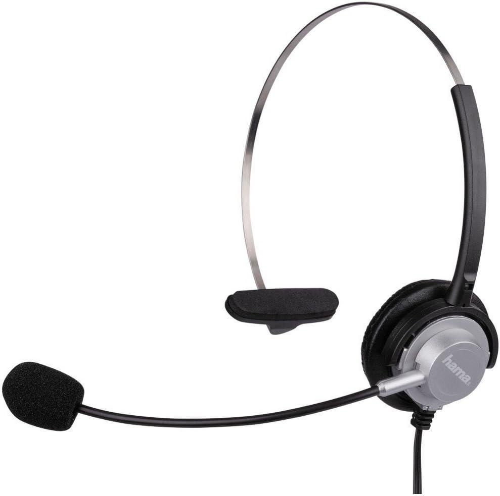 Hama Kopfbügel Headset Mit 2 5 Mm Klinkenstecker Computer Zubehör