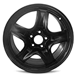 ford 17 hubcaps - New 10-12 17x7.5 Ford Fusion 10-11 Mercury Milan 5 Spoke Black Replacement Steel Wheel Rim