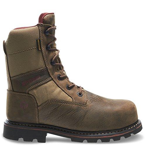 Boot Comp Toe Men's 8 Wolverine Novack Brown Inch Real nqCvSCHw