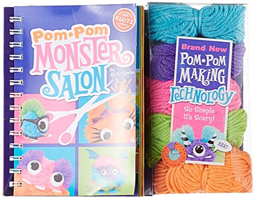 Klutz Pom Pom Monster Salon: Create, Cut & Style Your Own Monsters Craft Kit]()