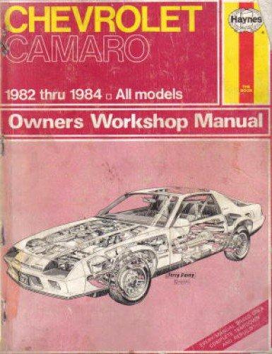 1984 camaro repair manual - 5