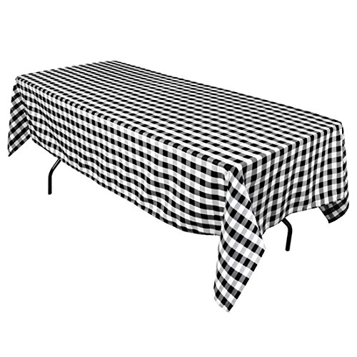60 x 102 Inch Rectangular Checkered Tablecloths