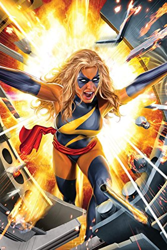 Ms. Marvel No.17 Cover: Ms. Marvel Poster