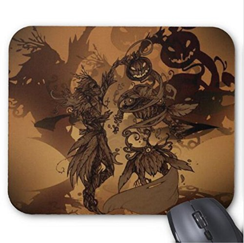 Halloween Drawing Contest Mouse pad 11.8x9.8 in -