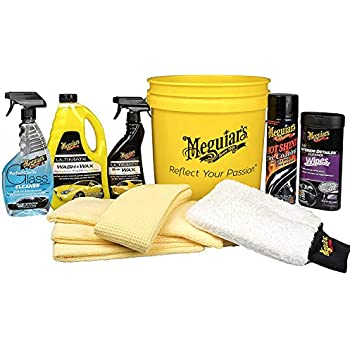 Amazon Com Meguiar S Ultimate Car Care Kit Premium Detailing Kit