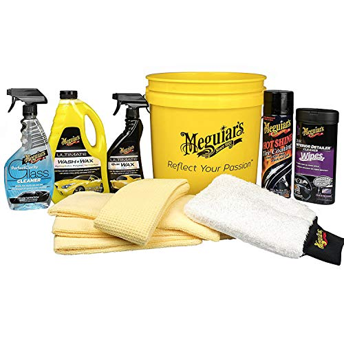 MEGUIAR'S G55146 All in One Essentials Car Care Kit (Set Car Care)