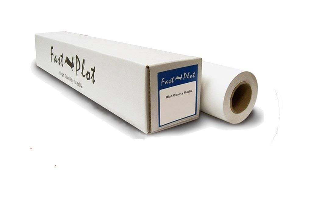 FastPlot Outdoor Scrim Vinyl Banner 15 mil - Waterproof 400g - 24 x 60' Roll by FastPlot