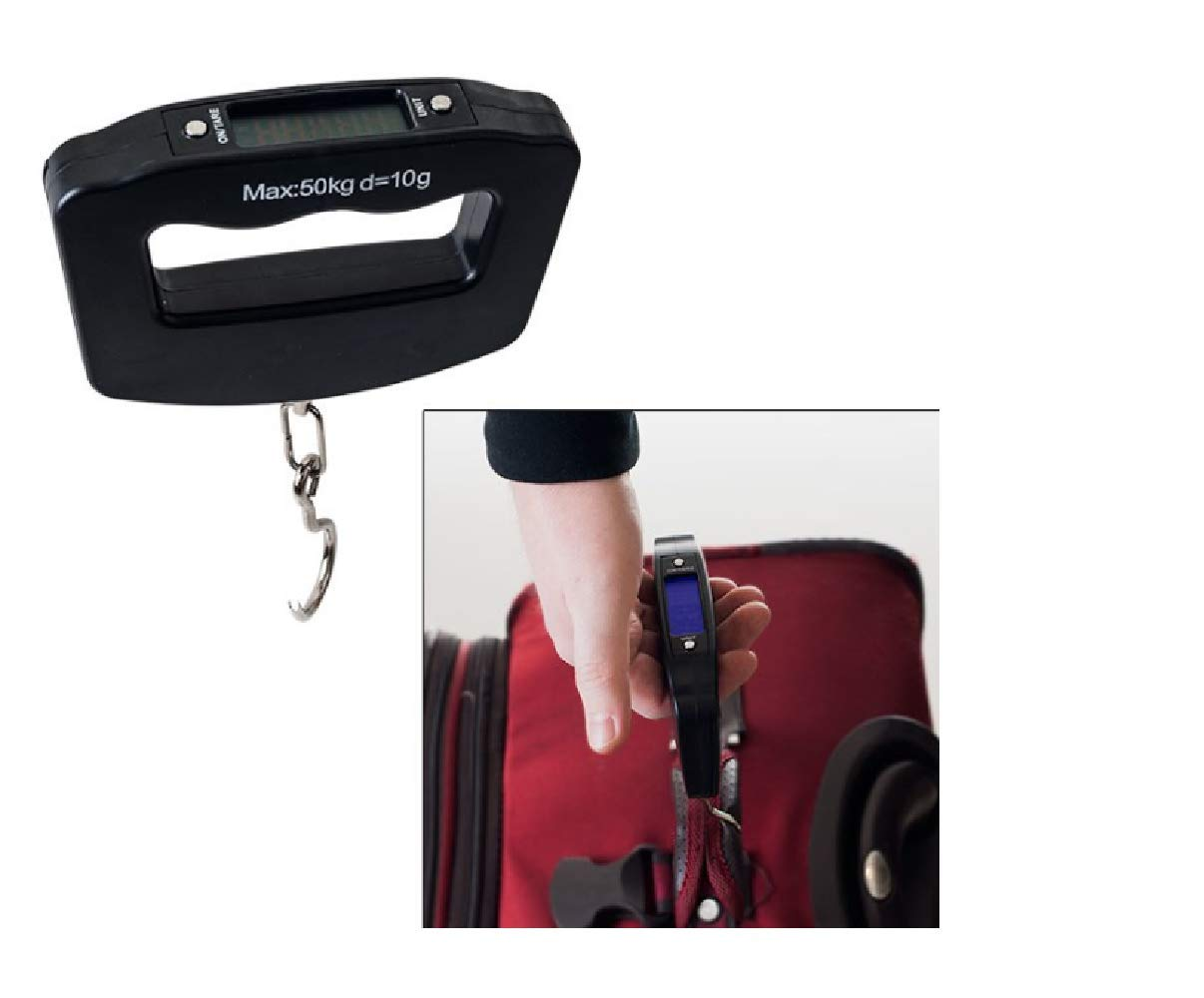 Amazon.com | Digital Luggage Grip Scale - Up to 110 Pounds | Luggage Scales