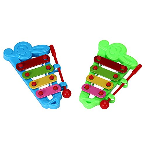 (Xylophone for Kids: Best Holiday/Birthday DIY Gift Idea for your Mini Musicians, Musical Toy with Child Safe Mallets, Perfectly Tuned Instrument for Toddlers, Musical Cards and Harmonica)