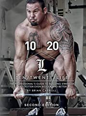 10/20/Life - 10 and 20 weeks at a time for a lifetime of positive momentum in life and in training. Learn to be your own coach, attack your weaknesses and utilize a proven philosophy that is a guide to permanent success. You asked for it, I l...