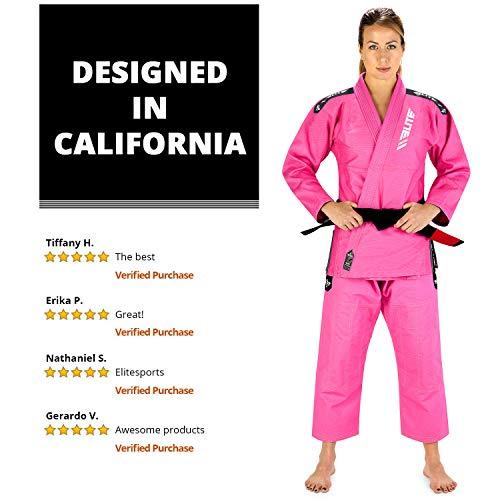 See Special Sizing Guide Elite Sports BJJ GI for Men IBJJF Kimono BJJ Jiujitsu GIS W//Preshrunk Fabric /& Free Belt